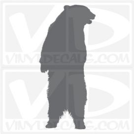 Standing Bear Car Vinyl Decal Sticker