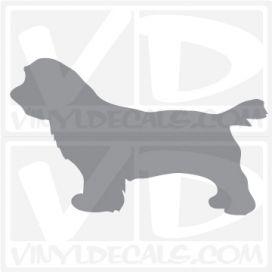 Sussex Spaniel Dog Vinyl Decal