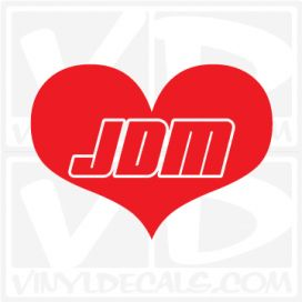 JDM Love Decal