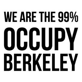 Berkeley - Custom City Occupy Movement Vinyl Decal Sticker