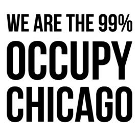 Chicago - Custom City Occupy Movement Vinyl Decal Sticker