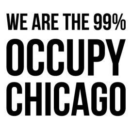 Chicago - Custom City Occupy Movement Vinyl Decal Sticker