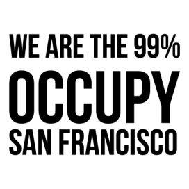 San Francisco - Custom City Occupy Movement Vinyl Decal Sticker