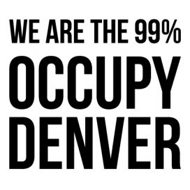Denver - Custom City Occupy Movement Vinyl Decal Sticker