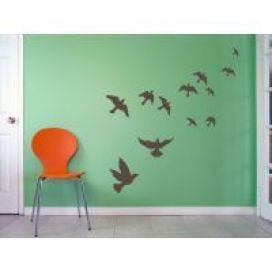 Flying Birds Wall Art Decal