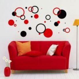 Circles 1 Set of 30 - Wall Art Vinyl Decals