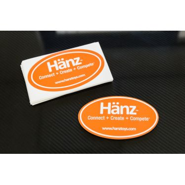 Custom Oval Printed Decals