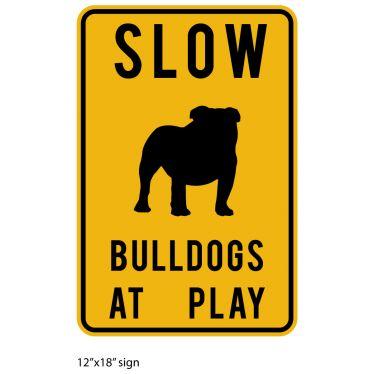 Slow Bulldogs at Play