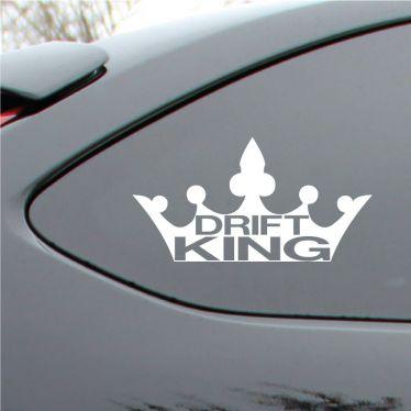 Drift King Vinyl Decal