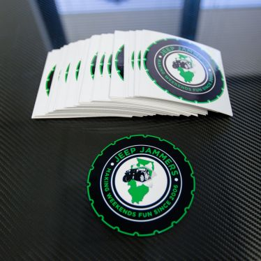 Custom Shape die cut stickers
