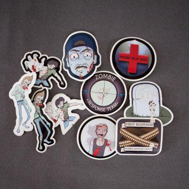 Zombie Sticker Decal
