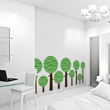 Lolly Tree Wall Art Decal
