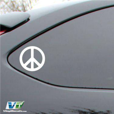 Peace Sign Vinyl Decal Sticker