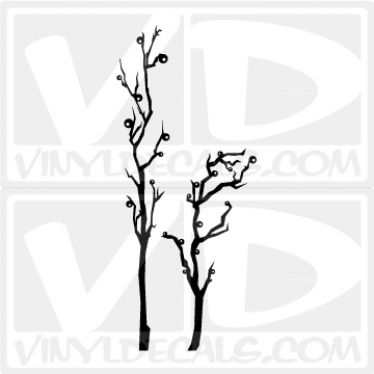 Abstract Tree Wall Decal Sticker
