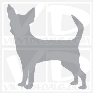 Chihuahua Vinyl Decal