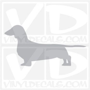 Dachshund Vinyl Decal