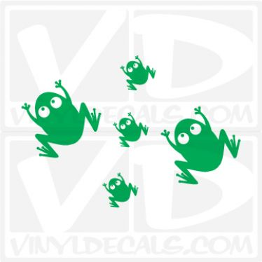 Frog Wall Decal
