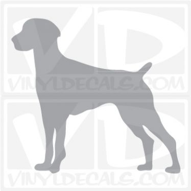 German Shorthaired Pointer Vinyl Decal