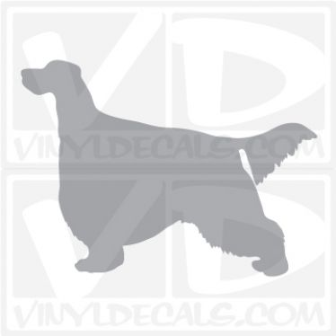 Gordon Setter Dog Vinyl Decal