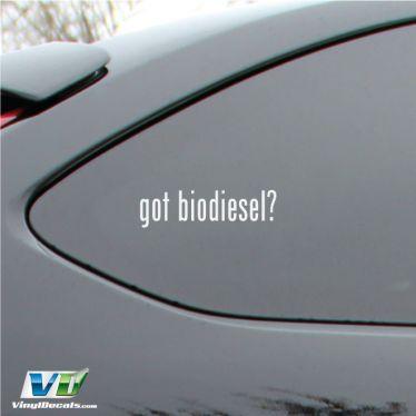 Got Biodiesel