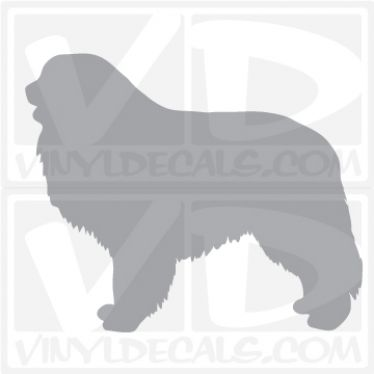 Great Pyrenees Dog Vinyl Decal