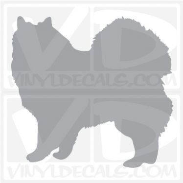 Icelandic Sheepdog Dog Vinyl Decal
