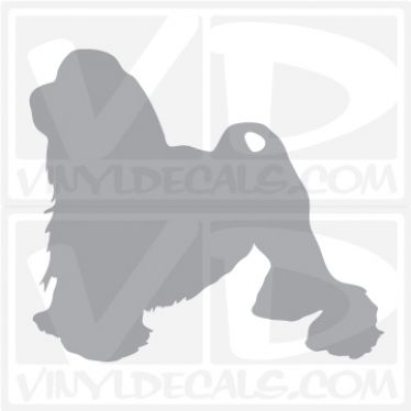 Lowchen Dog Vinyl Decal