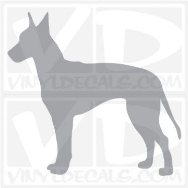 Machester Terrier Dog Vinyl Decal