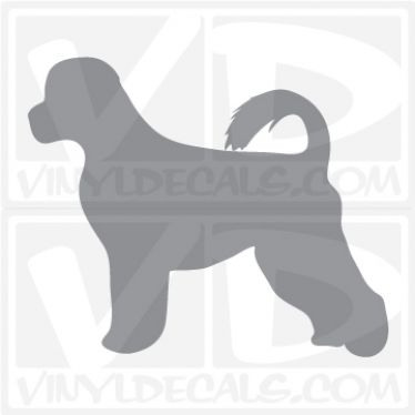 Portuguese Water Dog Vinyl Decal