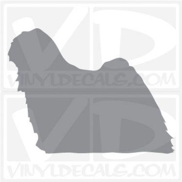 Puli Dog Vinyl Decal