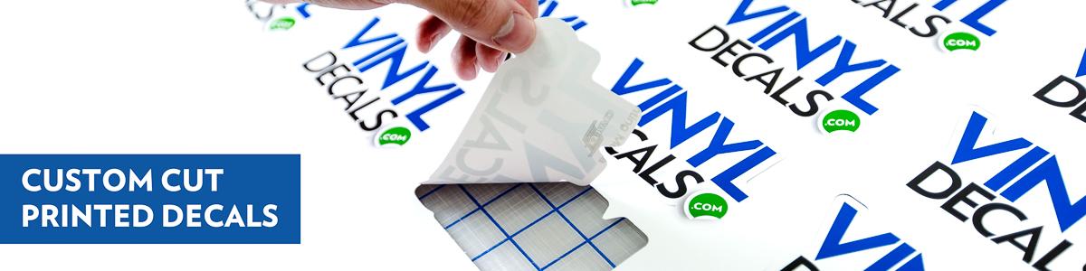 Custom Cut Printed Decals