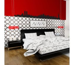 New York City Skyline Vinyl Wall Art Decal Sticker