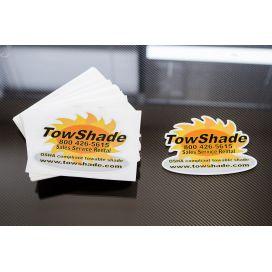 Custom Shape die cut stickers
