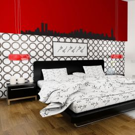 New York City Skyline Vinyl Wall Art Decal Sticker