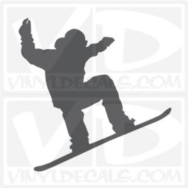 Snowboarding Car Vinyl Decal Sticker Graphic