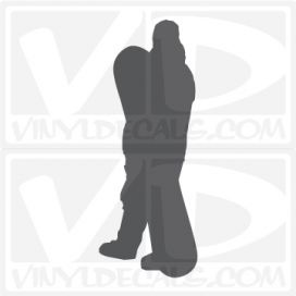 Standing Snowboarder 1 Car Vinyl Decal Sticker Graphic