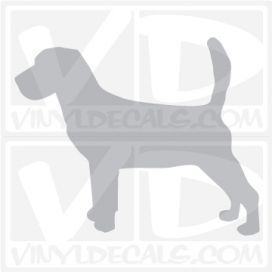Beagle Vinyl Decal