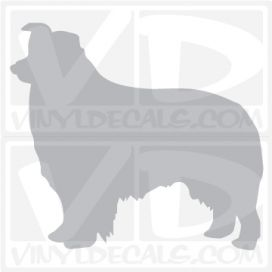 Border Collie Vinyl Decal
