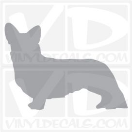 Cardigan Welsh Corgi Vinyl Decal