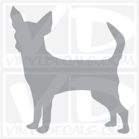 Chihuahua Vinyl Decal