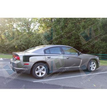 2011 Dodge Charger Hockey StripeGraphic