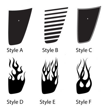 Hood Stripe Options